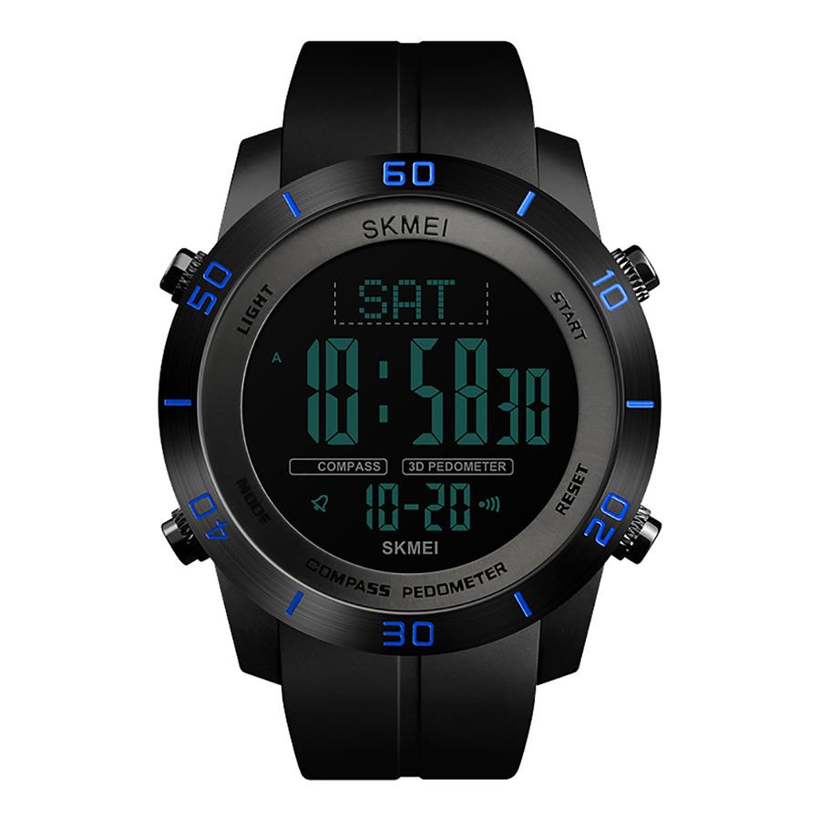 SKMEI 1354 Men Analog Digital Watch Fashion Casual Pedometer Sports Wristwatch 2 Time Compass 3ATM Waterproof Leather - 2183694 , 8686443161120 , 62_14021011 , 611000 , SKMEI-1354-Men-Analog-Digital-Watch-Fashion-Casual-Pedometer-Sports-Wristwatch-2-Time-Compass-3ATM-Waterproof-Leather-62_14021011 , tiki.vn , SKMEI 1354 Men Analog Digital Watch Fashion Casual Pedomete