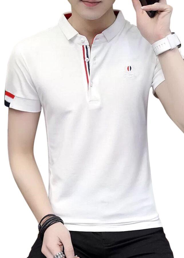 áo thun nam có cổ cao cấp trắng viền đỏ - 1975476 , 8416177288301 , 62_15341799 , 200000 , ao-thun-nam-co-co-cao-cap-trang-vien-do-62_15341799 , tiki.vn , áo thun nam có cổ cao cấp trắng viền đỏ