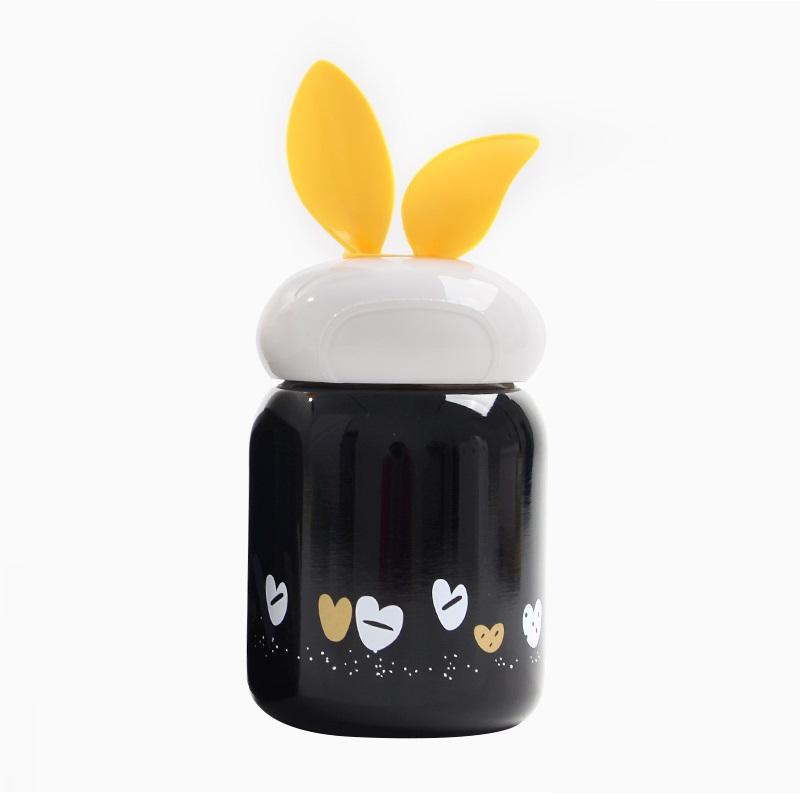 Bình giữ nhiệt mini cao cấp tai thỏ phong cách Hàn Quốc MINIGOOD - EM026