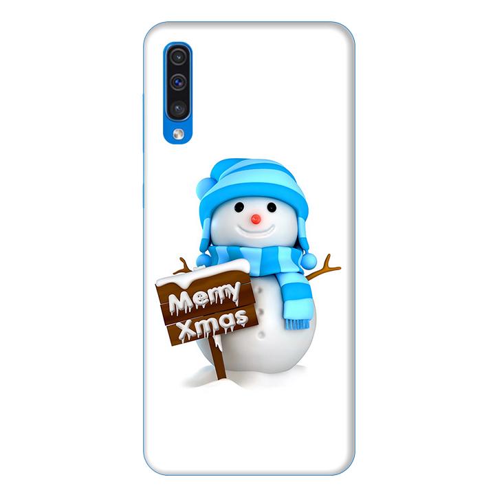 Ốp lưng dành cho điện thoại Samsung Galaxy A50 hình Cậu Bé Người Tuyết - Hàng chính hãng