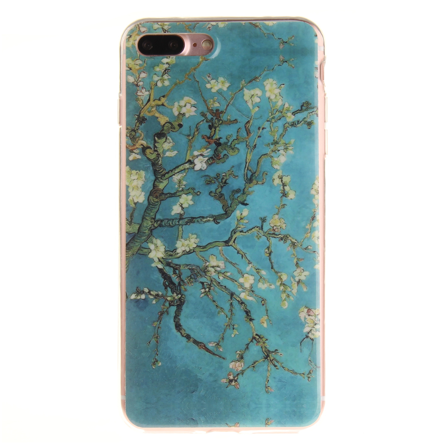 iPhone 8 Plus Case Pattern Printed Soft Protective Cover for iPhone 8 Plus