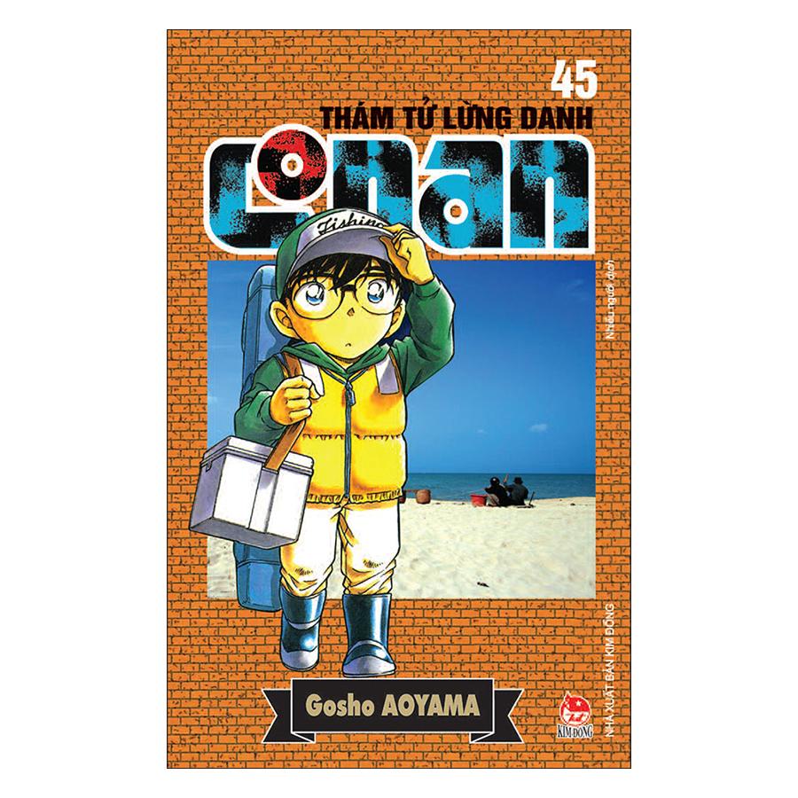Thám Tử Lừng Danh Conan Tập 45 (Tái Bản 2019)