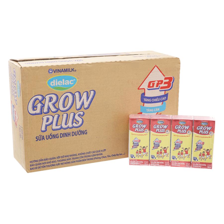 Thùng 48 Hộp Sữa Bột Pha Sẵn Vinamilk Dielac Grow Plus - Đỏ 180ml - 4824723 , 1837852063223 , 62_15356098 , 515000 , Thung-48-Hop-Sua-Bot-Pha-San-Vinamilk-Dielac-Grow-Plus-Do-180ml-62_15356098 , tiki.vn , Thùng 48 Hộp Sữa Bột Pha Sẵn Vinamilk Dielac Grow Plus - Đỏ 180ml