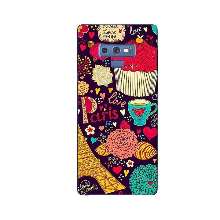 Ốp Lưng Dẻo Cho Điện thoại Samsung Galaxy Note 9 - Paris 04
