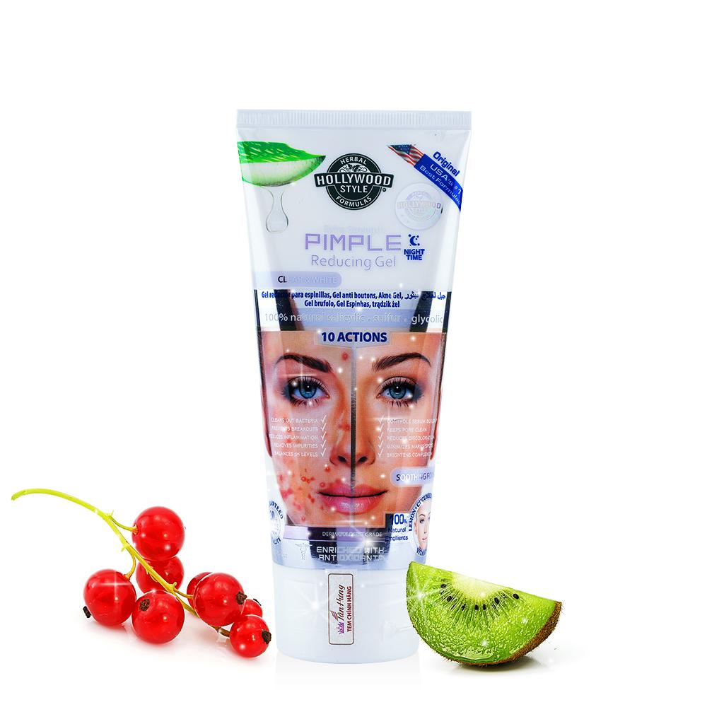 Gel dưỡng da trị mụn ban đêm Extra Strength Pimple Reducing Gel
