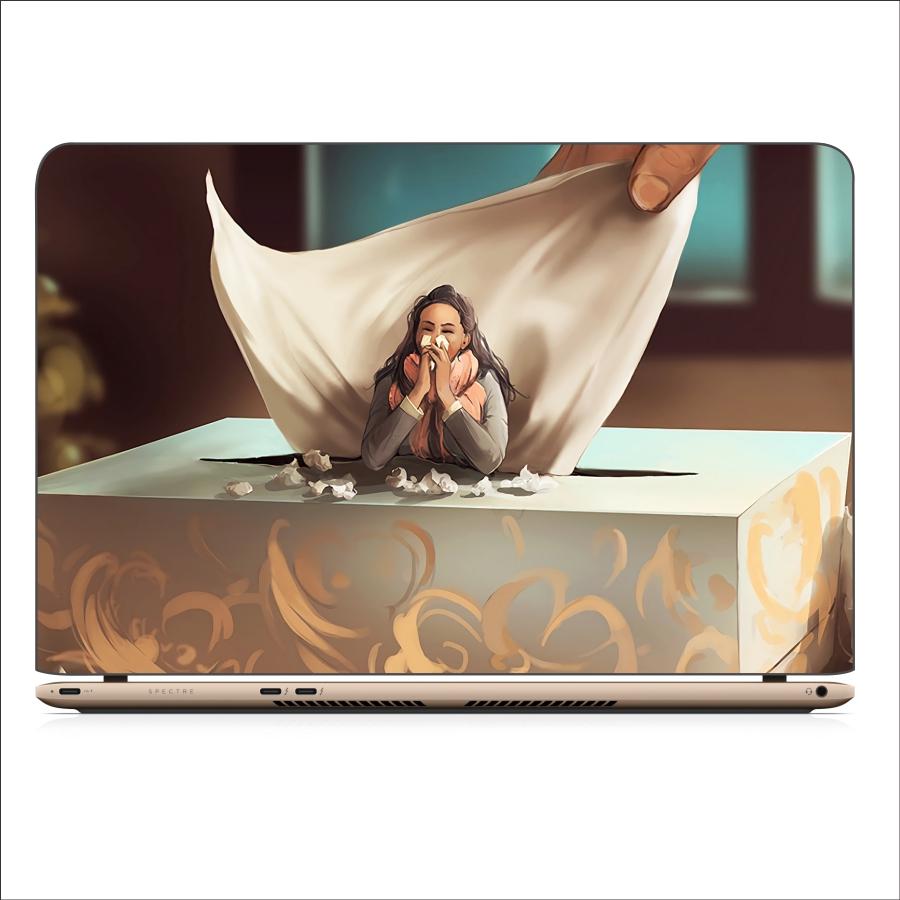 Mẫu Dán Decal Laptop Cực Cool - Mã DCLTCC 156