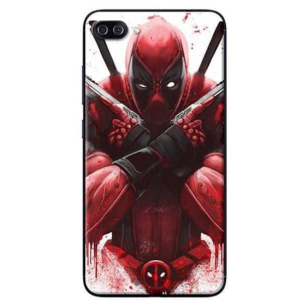 Ốp Lưng Dành Cho Asus Zenfone 4 Max ZC520KL - Mẫu Deadpool