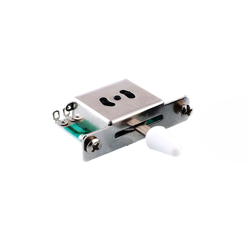 Pickup Selector Switch Electric Guitar Parts 3 Way Switch for Electric Guitars Chrome Strat Fender - 1794602 , 3926486447986 , 62_13194297 , 238000 , Pickup-Selector-Switch-Electric-Guitar-Parts-3-Way-Switch-for-Electric-Guitars-Chrome-Strat-Fender-62_13194297 , tiki.vn , Pickup Selector Switch Electric Guitar Parts 3 Way Switch for Electric Guitars