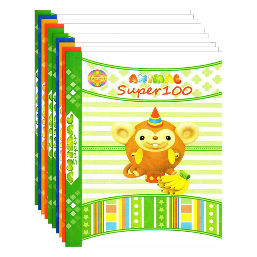 Lốc 10 Quyển Tập Super 100 4 Ô Ly Hòa Bình (96 Trang) - 9424909 , 5670879286703 , 62_828483 , 159000 , Loc-10-Quyen-Tap-Super-100-4-O-Ly-Hoa-Binh-96-Trang-62_828483 , tiki.vn , Lốc 10 Quyển Tập Super 100 4 Ô Ly Hòa Bình (96 Trang)