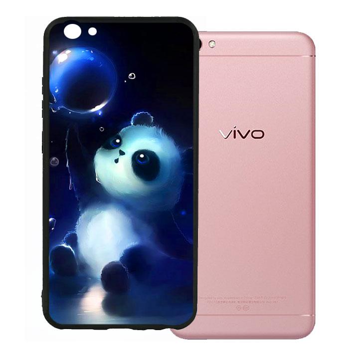 Ốp lưng viền TPU cho Vivo V5 - Panda