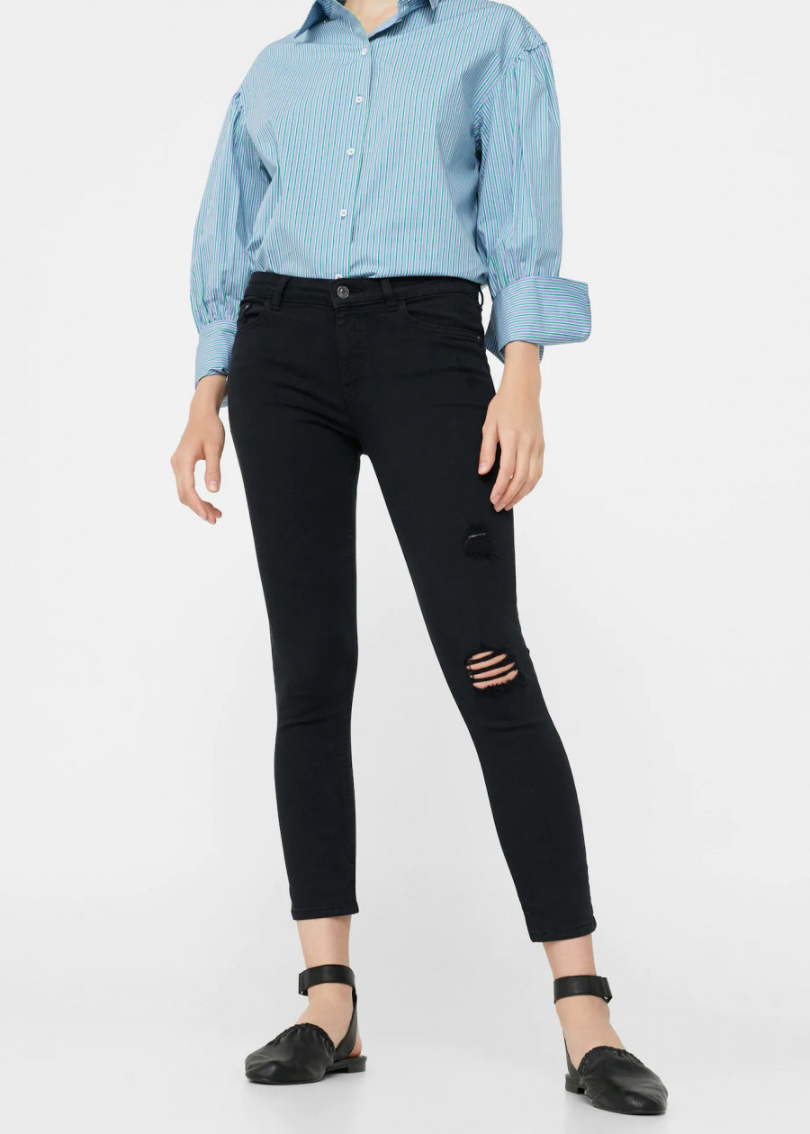 Quần Jeans Nữ Isa1 Mango 13023009