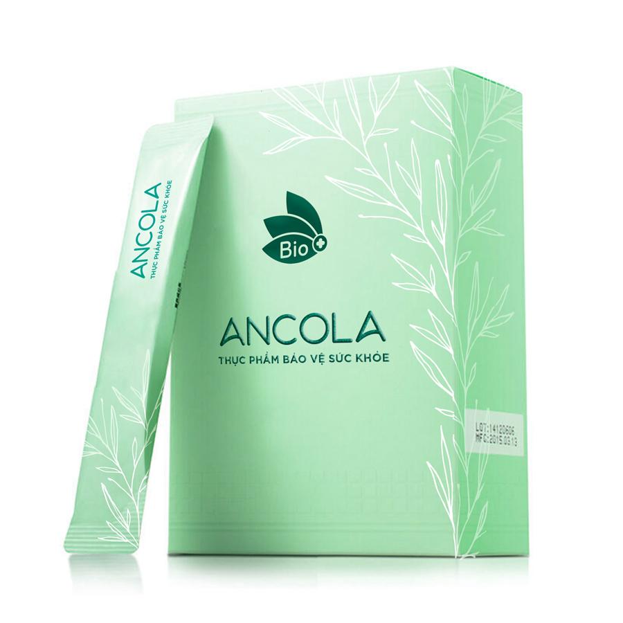 Thực phẩm chức năng bảo vệ sức khỏe bổ sung Collagen giúp đẹp da, chống lão hóa Ancola Collagen (Hộp 14 gói 7 gram)