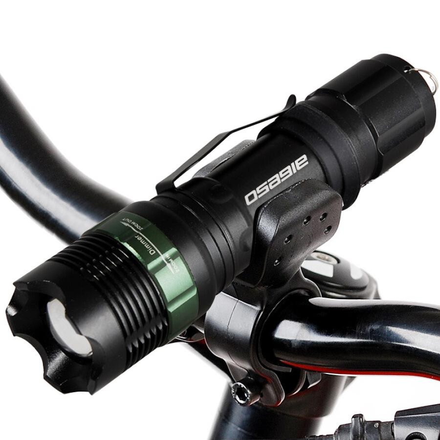 Đèn Pin Gắn Xe Đạp Osagie Q6