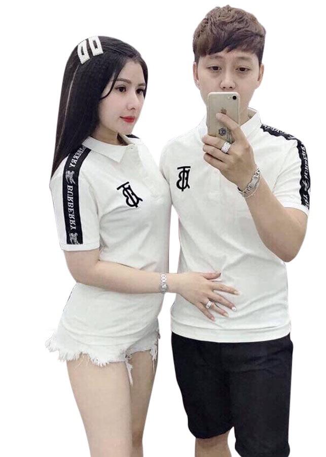 áo thun nam có cổ cao cấp TCS trắng viền tay đen logo T/B - 2352753 , 7854200173827 , 62_15345452 , 200000 , ao-thun-nam-co-co-cao-cap-TCS-trang-vien-tay-den-logo-T-B-62_15345452 , tiki.vn , áo thun nam có cổ cao cấp TCS trắng viền tay đen logo T/B