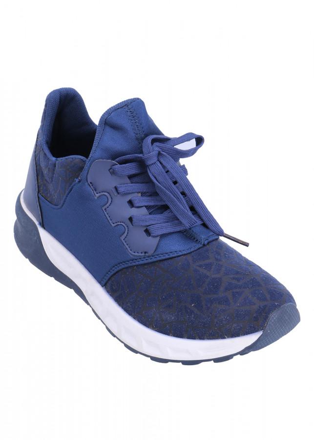 Giày Sneaker Nam POSA DCTK135 - Xanh
