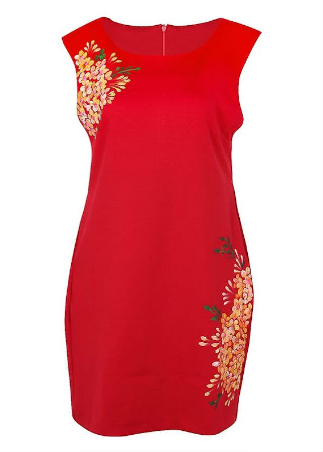 Đầm Kiểu Nữ An Thủy 610-M1 - Đỏ Đô