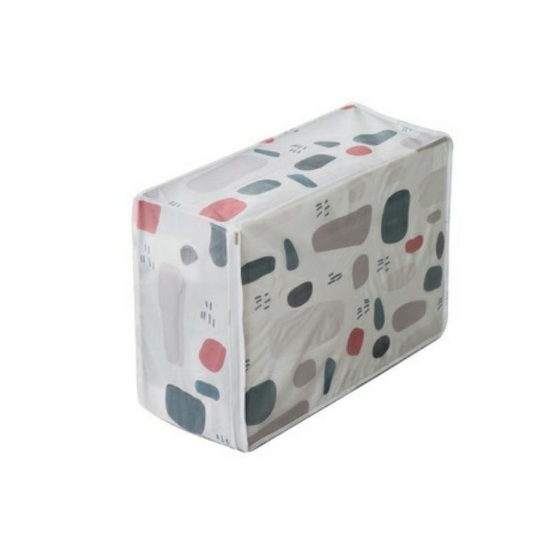 Túi đựng chăn màn quần áo vải PEVA chống thấm cỡ đại (57x40x22 cm)