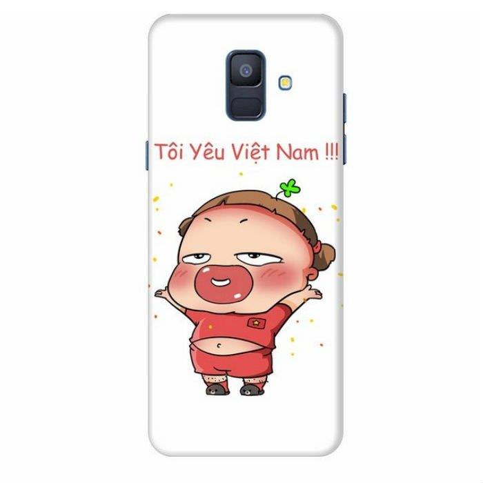 Ốp Lưng Dành Cho Samsung Galaxy A6 2018 Quynh Aka 1