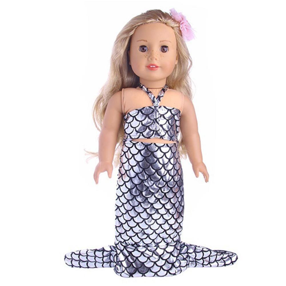 2Pcs Baby Fashion Doll Girl Mermaid Clothing Crop Top Tail Skirt Dress Kids Gift - 16641544 , 8351548177870 , 62_27344541 , 109000 , 2Pcs-Baby-Fashion-Doll-Girl-Mermaid-Clothing-Crop-Top-Tail-Skirt-Dress-Kids-Gift-62_27344541 , tiki.vn , 2Pcs Baby Fashion Doll Girl Mermaid Clothing Crop Top Tail Skirt Dress Kids Gift