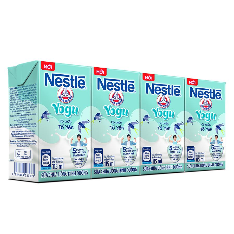 Lốc 4 Hộp Sữa Chua Uống Dinh Dưỡng Nestlé Yogu (115ml/Hộp) - 7370759 , 5197350422394 , 62_15226490 , 30000 , Loc-4-Hop-Sua-Chua-Uong-Dinh-Duong-Nestle-Yogu-115ml-Hop-62_15226490 , tiki.vn , Lốc 4 Hộp Sữa Chua Uống Dinh Dưỡng Nestlé Yogu (115ml/Hộp)