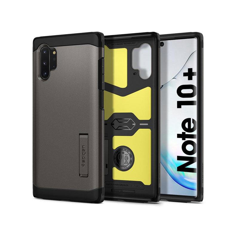 Ốp lưng dành cho Samsung Galaxy Note 10 Plus SPIGEN Tough Armor - Hàng chính Hãng