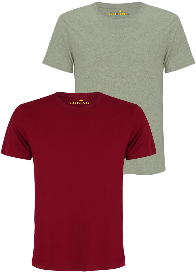 Combo 2 Áo thun nam thoát nhiệt Nhật Bản GOKING siêu thoáng mát, áo phông nam hàng hiệu cao cấp xuất khẩu