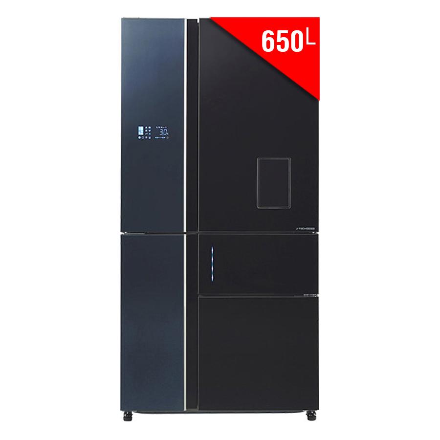 Tủ Lạnh Inverter Sharp SJ-F5X75VGW-BK (650L) - Đen - 887047 , 2912110265607 , 62_12289682 , 54000000 , Tu-Lanh-Inverter-Sharp-SJ-F5X75VGW-BK-650L-Den-62_12289682 , tiki.vn , Tủ Lạnh Inverter Sharp SJ-F5X75VGW-BK (650L) - Đen