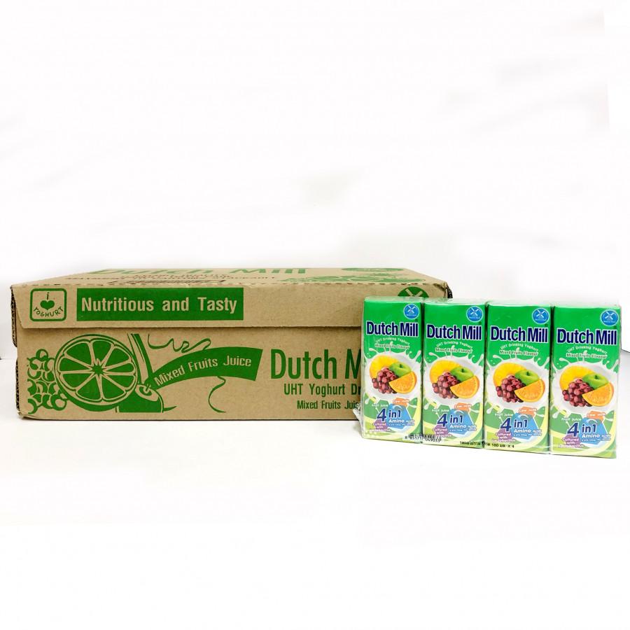 Thùng 48 Hộp Sữa Chua Uống Dutch Mill Vị Trái Cây Tổng Hợp 180ML - 1919208 , 1210863639654 , 62_14641280 , 408000 , Thung-48-Hop-Sua-Chua-Uong-Dutch-Mill-Vi-Trai-Cay-Tong-Hop-180ML-62_14641280 , tiki.vn , Thùng 48 Hộp Sữa Chua Uống Dutch Mill Vị Trái Cây Tổng Hợp 180ML