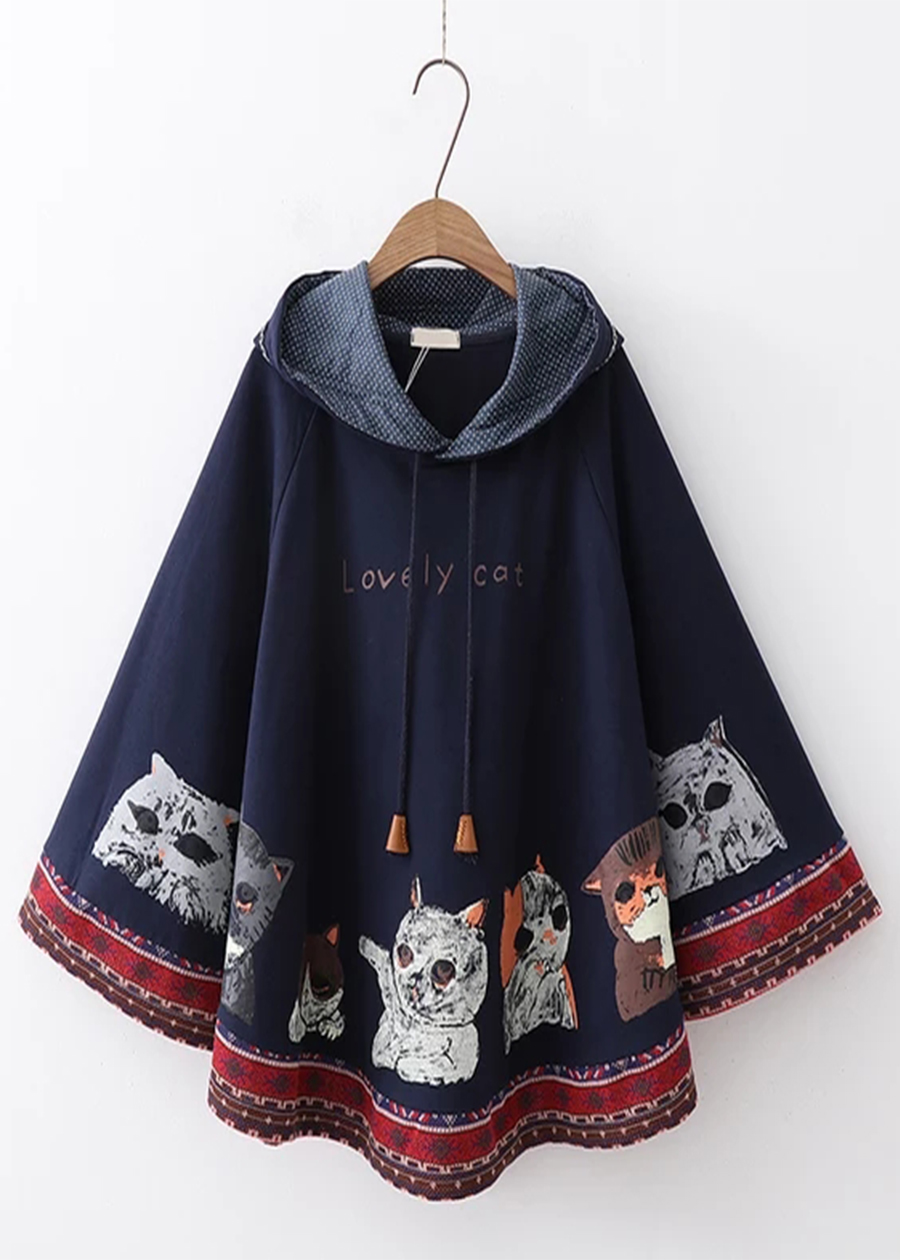 Áo khoác cánh dơi nữ thổ cẩm đẹp lung linh chất liệu nỉ ngoại chuẩn shop TEN30