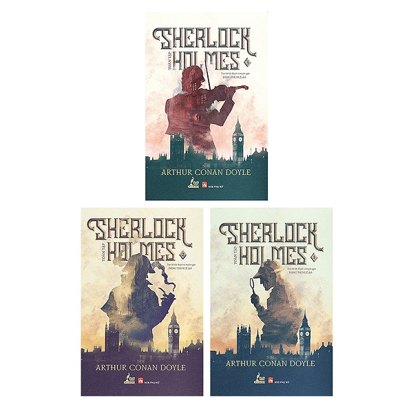 Sherlock Holmes (Trọn Bộ 3 Tập)
