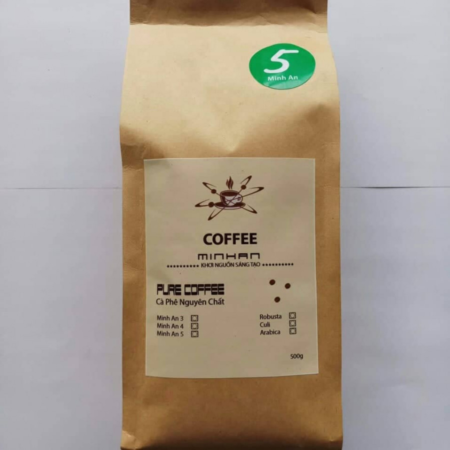 Cà Phê bột Rang Xay Nguyên Chất 100% Minh An Coffee (500g) - 793797 , 7148433436058 , 62_13135805 , 97500 , Ca-Phe-bot-Rang-Xay-Nguyen-Chat-100Phan-Tram-Minh-An-Coffee-500g-62_13135805 , tiki.vn , Cà Phê bột Rang Xay Nguyên Chất 100% Minh An Coffee (500g)