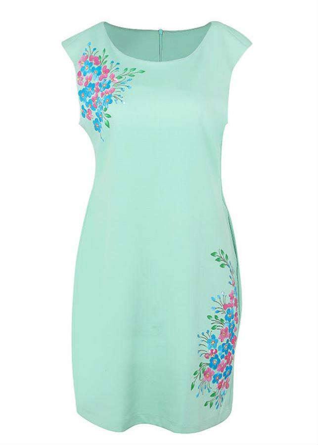 Đầm Kiểu Nữ An Thủy 610-M6 - Xanh Ngọc