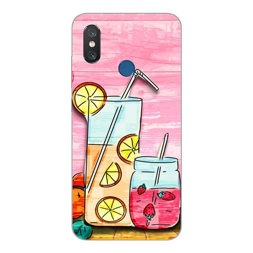 Ốp lưng dẻo cho Xiaomi Mi 8_Cocktail