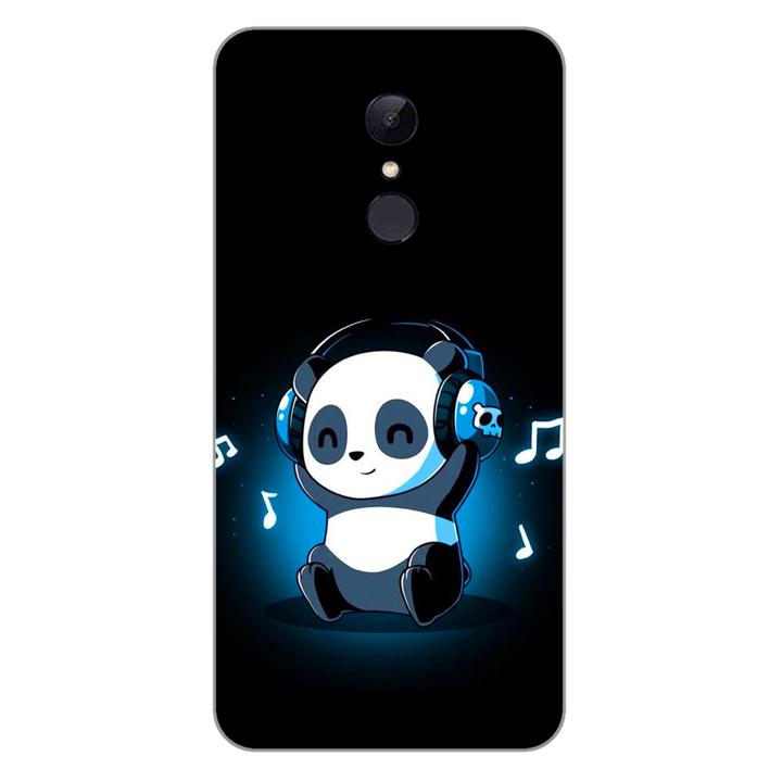 Ốp lưng dẻo cho điện thoại Xiaomi Redmi 5 plus_Panda 05