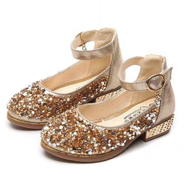 Giày bé gái cao gót dáng búp bê đính đá kim sa lấp lánh B130 - 7330117 , 7734888416723 , 62_11085382 , 219000 , Giay-be-gai-cao-got-dang-bup-be-dinh-da-kim-sa-lap-lanh-B130-62_11085382 , tiki.vn , Giày bé gái cao gót dáng búp bê đính đá kim sa lấp lánh B130