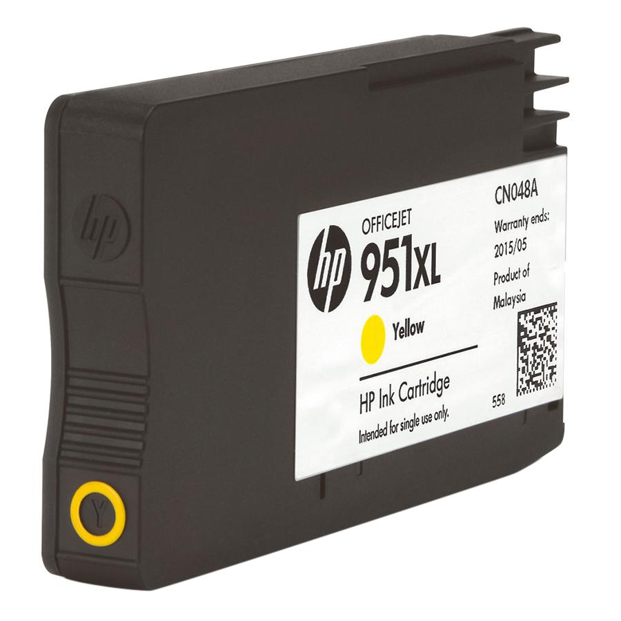 Mực in Phun HP 951XL High Yield Yellow Original Ink Cartridge Vàng (Máy in HP Officejet Pro 8610 e-AiO/8620/8630/8640//8660/HP Officejet Pro...