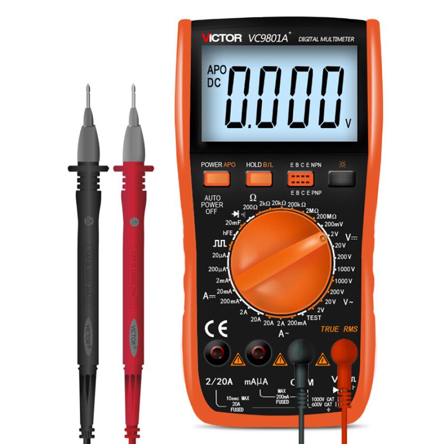 Máy Đo Điện Trở Victory Instrument (VICTOR) VC9801A+ - 998070 , 8654757893570 , 62_5631039 , 659000 , May-Do-Dien-Tro-Victory-Instrument-VICTOR-VC9801A-62_5631039 , tiki.vn , Máy Đo Điện Trở Victory Instrument (VICTOR) VC9801A+