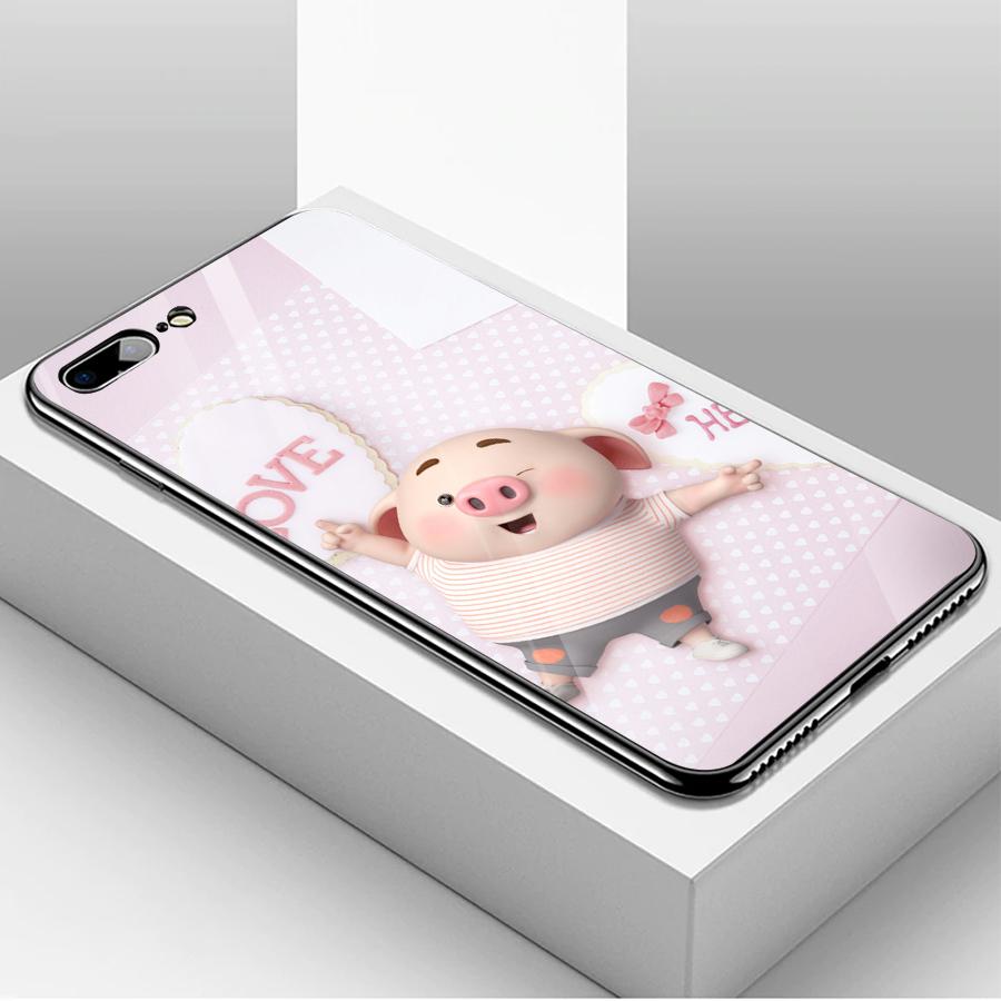 Ốp kính cường lực dành cho điện thoại iPhone 7/8 Plus - heo hồng - hh090 - 1739581 , 5806385748729 , 62_13626702 , 204000 , Op-kinh-cuong-luc-danh-cho-dien-thoai-iPhone-7-8-Plus-heo-hong-hh090-62_13626702 , tiki.vn , Ốp kính cường lực dành cho điện thoại iPhone 7/8 Plus - heo hồng - hh090