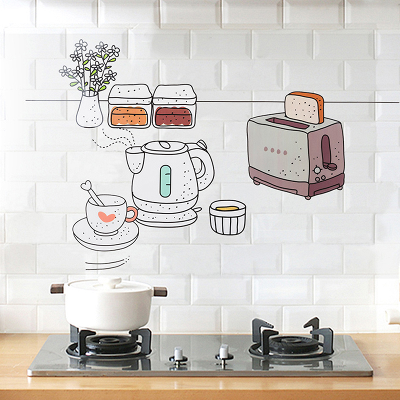 Kitchen Oil Sticker Kitchen Wall Stickers Transparent Oil-proof Removable Wall Stickers for Home Decor Art Decor - 5132639 , 2840371149926 , 62_16519737 , 168000 , Kitchen-Oil-Sticker-Kitchen-Wall-Stickers-Transparent-Oil-proof-Removable-Wall-Stickers-for-Home-Decor-Art-Decor-62_16519737 , tiki.vn , Kitchen Oil Sticker Kitchen Wall Stickers Transparent Oil-proof