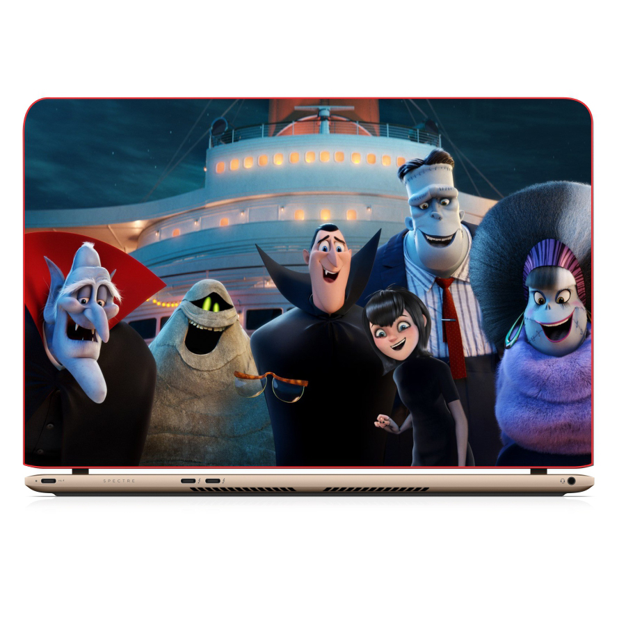 Mẫu Dán Decal Laptop Cinema - DCLTPR 016