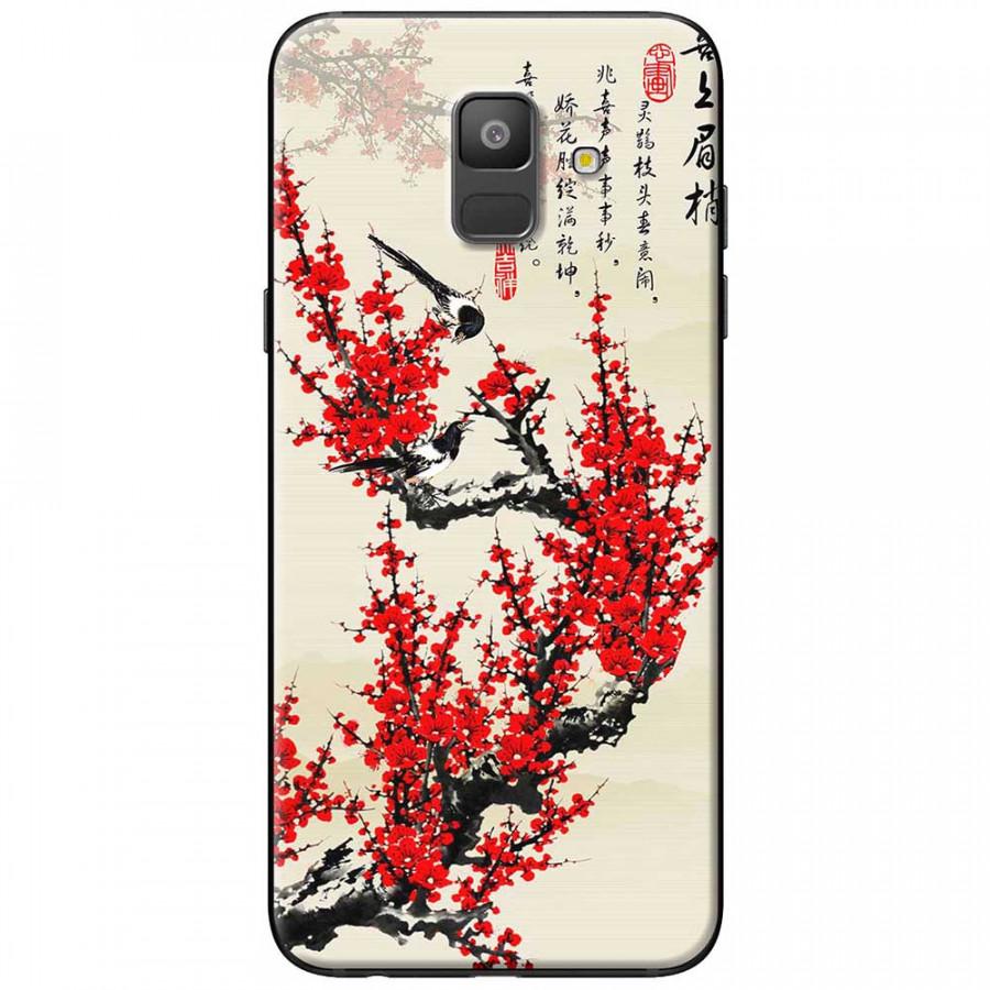 Ốp lưng dành cho Samsung Galaxy A6 (2018) mẫu Hoa đào đỏ thư pháp - 9490793 , 1004672563114 , 62_19602007 , 150000 , Op-lung-danh-cho-Samsung-Galaxy-A6-2018-mau-Hoa-dao-do-thu-phap-62_19602007 , tiki.vn , Ốp lưng dành cho Samsung Galaxy A6 (2018) mẫu Hoa đào đỏ thư pháp