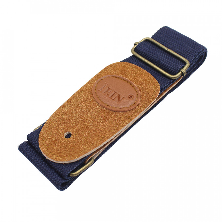 IRIN Adjustable Belt Woven Cotton Guitar Strap with Leather Ends for Electric Acoustic Folk Guitars Comfortable and Durable - 858506 , 9120932998778 , 62_14373753 , 161000 , IRIN-Adjustable-Belt-Woven-Cotton-Guitar-Strap-with-Leather-Ends-for-Electric-Acoustic-Folk-Guitars-Comfortable-and-Durable-62_14373753 , tiki.vn , IRIN Adjustable Belt Woven Cotton Guitar Strap with Le