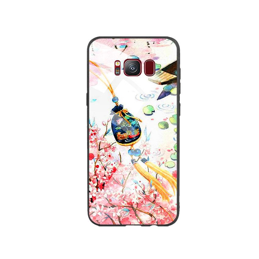Ốp Lưng Kính Cường Lực cho điện thoại Samsung Galaxy S8 - DHCL Mẫu 3