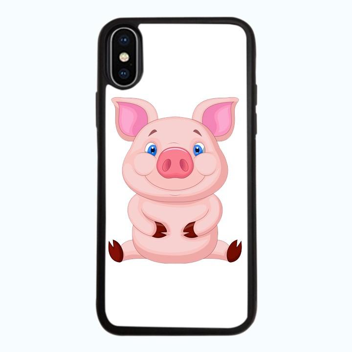Ốp lưng dành cho điện thoại iPhone XR - X/XS - XS MAX - Pig Pig Mẫu 2