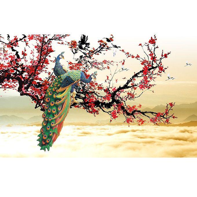 Tranh dán tường 3D vải lụa cao cấp hình đôi chim công kim tiền phú quý vinh hoa - ĐC - 2151581 , 3118100265063 , 62_13740396 , 450000 , Tranh-dan-tuong-3D-vai-lua-cao-cap-hinh-doi-chim-cong-kim-tien-phu-quy-vinh-hoa-DC-62_13740396 , tiki.vn , Tranh dán tường 3D vải lụa cao cấp hình đôi chim công kim tiền phú quý vinh hoa - ĐC