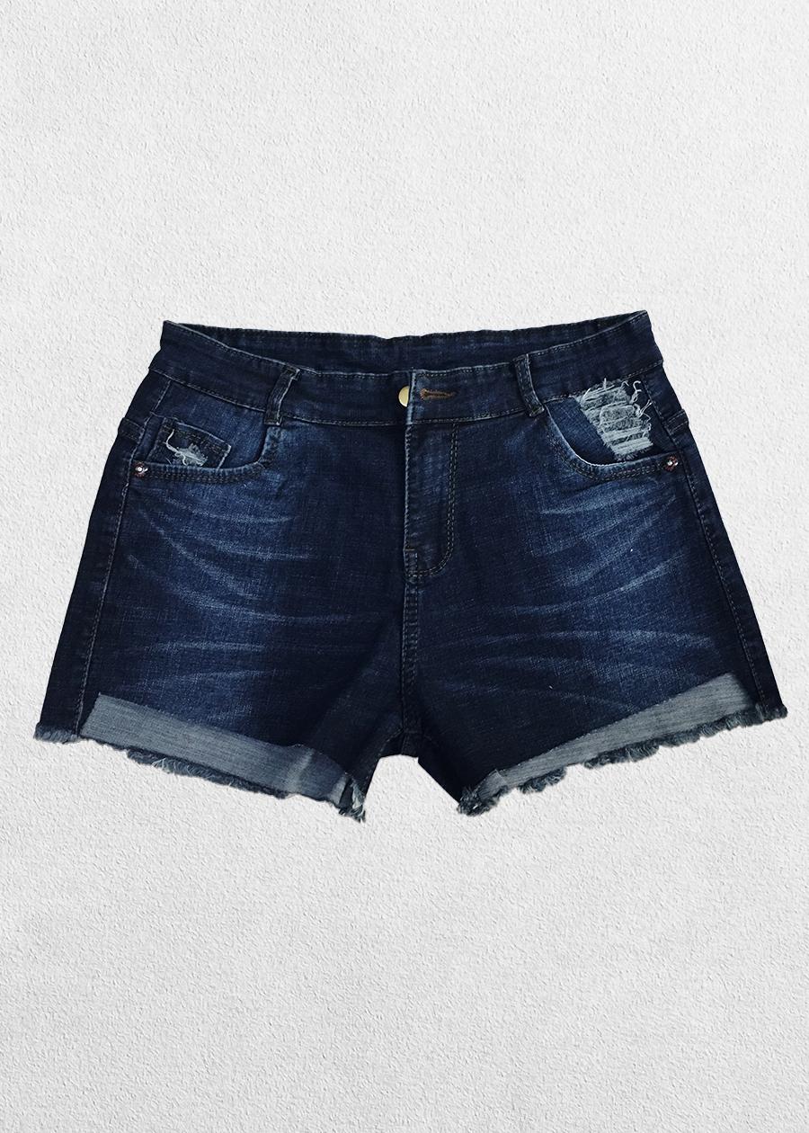 Quần Short Jean Nữ Bigsize Co Giãn FSG2633