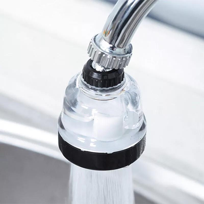 Đầu vòi hoa sen chậu rửa chén tăng áp_Đầu vòi rửa chén bát tăng áp lực nước 3 chế độ phun_ đầu tăng áp rửa...