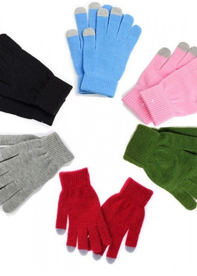 Găng tay Bao tay cảm ứng len thời trang - màu ngẫu nhiên