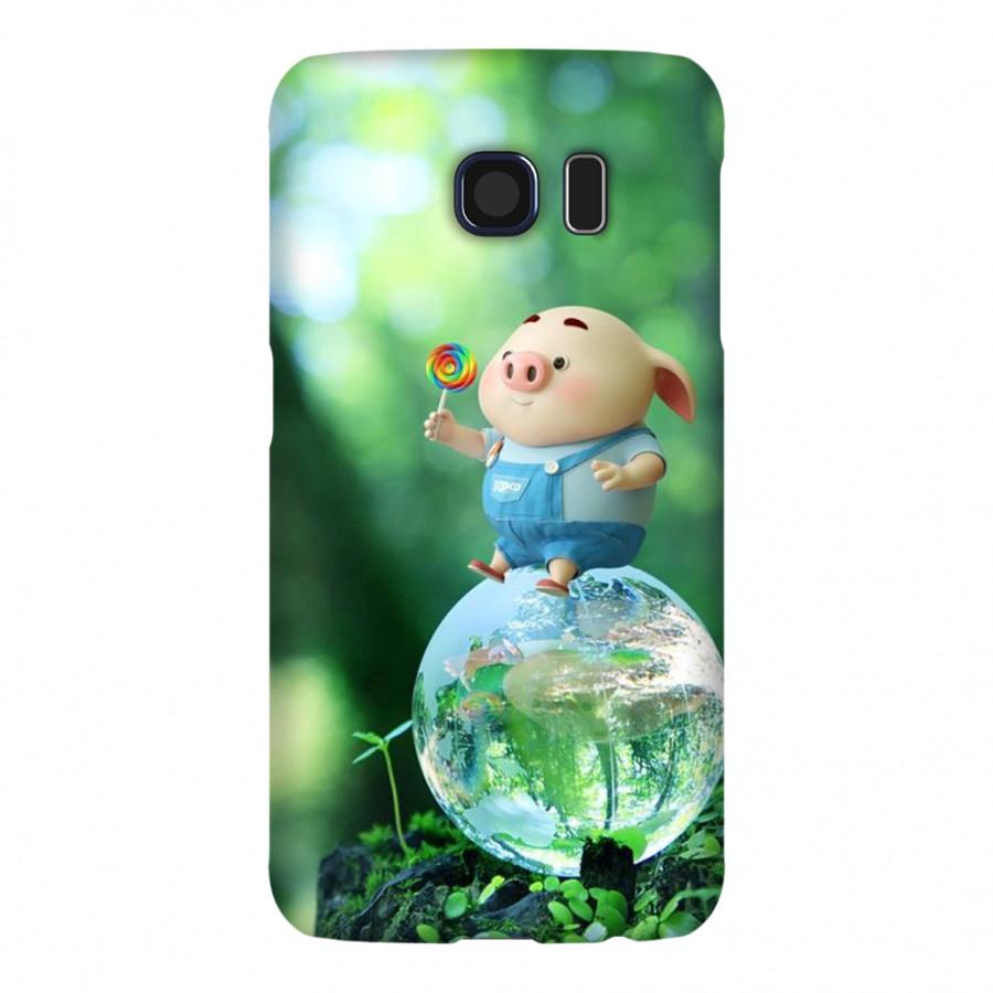 Ốp Lưng Cho Điện Thoại Samsung Galaxy S6 - Mẫu heocon 137