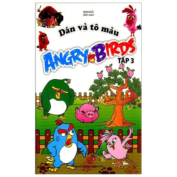 Dán Và Tô Màu Angrybirds - Tập 3